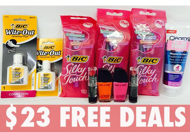 25 free deals