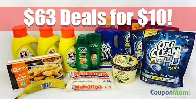 Shop $63 deals for $10 at Kroger
