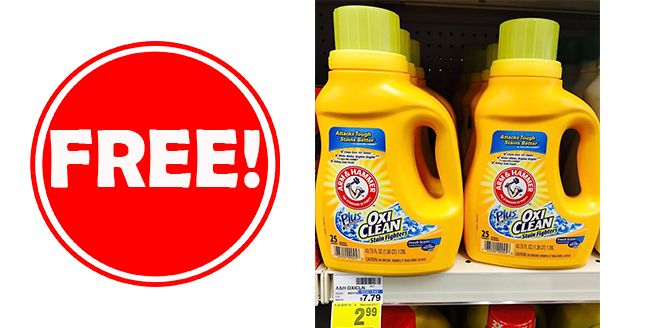 Free Arm & Hammer Laundry Detergent