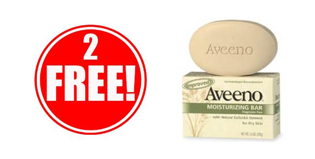 2 Free Aveeno