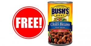 2 free Bush's Chili Beans