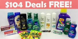 CVS: $104 Deals Free