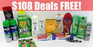 CVS: $108 Deals Free