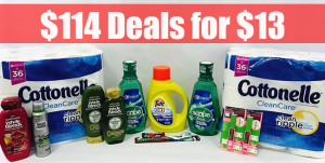 CVS $114 Deals for $13