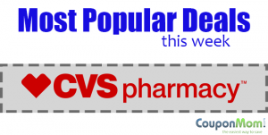 Most Popular CVS Deals