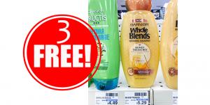 3 Free Garnier Hair Care