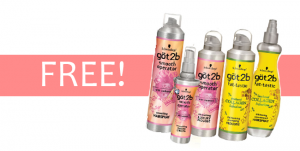 got2b hair care free product