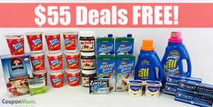 Kroger: $55 Deals FREE