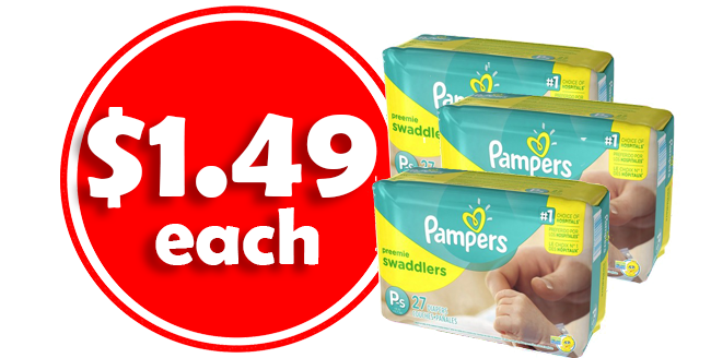 CVS free deals and Coupons Pampers