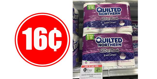 16¢ Quilted Northern Bath Tissue