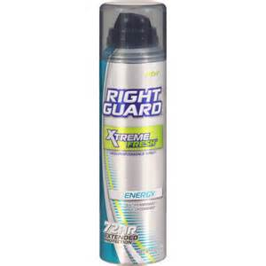 right guard aerosol