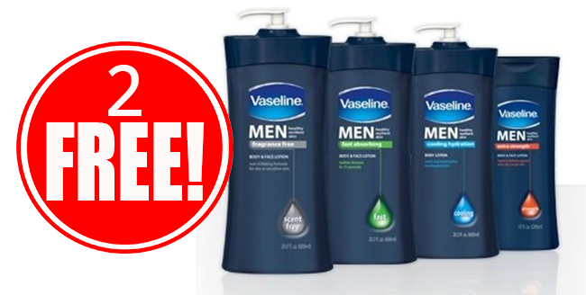 2 Free Vaseline Lotions