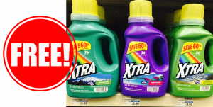 Free Laundry Detergent at CVS
